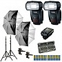 Canon Speedlite 600ex-rt Two Flash Wireless Portrait Kit B&h