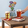 Power-up Heart Pint Glass 4-pack | Thinkgeek